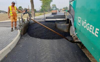 Przebudowa drogi powiatowej nr 1213