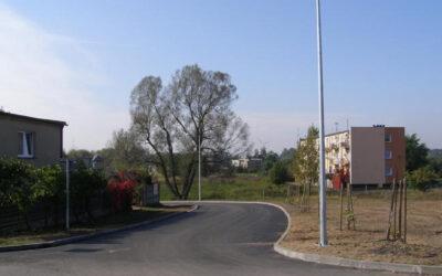 Budowa ulicy Słonecznej w Nekli